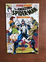 The Amazing Spider-Man #374 (1993) 9.2 NM Marvel Comic Book Venom Attacks