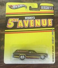 Hot Wheels - Hershey's 5th Avenue ~ '70 Chevelle Delivery ~ NEW ON CARD