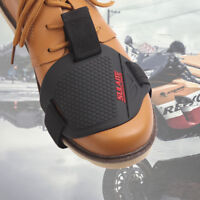 Black Motorcycle Gear Shifter Shoe Boots Protector Shift Sock Boot Cover Guard