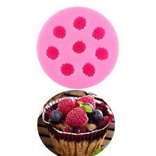 3D Raspberry Cake Decor Chocolate Sugarcraft Baking Mould Silicone Fondant Mold