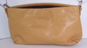 Fossil Women's Purse 75082 Tan Leather Handbag Clutch