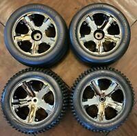 Traxxas Rustler 2wd Wheels Tires - Alias All Star VXL Front Rear Bandit Stampede
