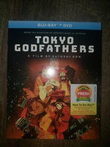 Tokyo Godfathers Blu-ray + DVD & Slipcover Brand New Sealed