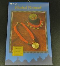 Blue Moon Beads Global Nomad - Beading Instruction Flip Book  13 Projects
