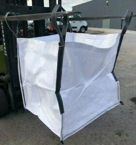 1 Tonne Bags FIBC Ton Bulk Jumbo Builder's Garden Bags Rubble Sack Brand New