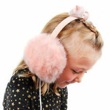 Pink Fluffy Headphones w/ 3.5mm Connector for Fujitsu Stylistic R727