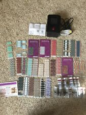 Jamberry Nail Wraps Lot Mini Heater RETIRED Half Full Partial sheets New