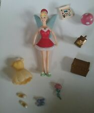 Disney World Parks Tinker Bell figure and accessories pre-owned