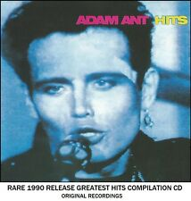 Adam & The Ants - The Very Best Greatest Hits Collection - RARE 1990 CD 80's