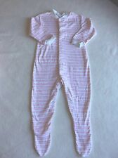 Baby Girls Clothes 6-9 Months- Pretty Babygrow Sleepsuit
