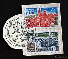 TIMBRE FRANCE OBL. 1° JOUR  Yt 1928/9 EUROPA