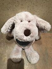 NEXT MY BEST FRIEND BEIGE PUPPY DOG DENIM SCARF COMFORTER BABY SOFT HUG TOY BNWT
