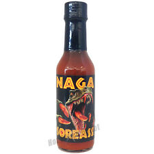 CAJOHN'S NAGA SOREASS HOT SAUCE - 5oz