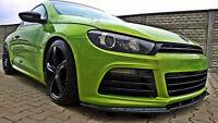 Chin for VW Scirocco MK3 R Front Bumper Lower Lip spoiler Cup Valance Splitter