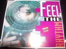 Jinny Feel The Rhythm U.S.U.R.A Remixes Australian CD Single – Like New