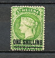 (NNAL 062) St Helena 1894 DAMAGE GUM MINT