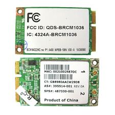 Mini-PCI-E Broadcom BCM94322MC DualBand Wireless Wifi card 487330-001 395514-001