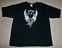 AWESOME NEW YORK WINGED DRAGON TEE SHIRT~SIZE LARGE~BLACK~UNIQUE BRONX T SHIRT