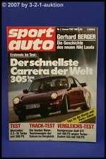 Sport Auto 1/87 Rur Carrera Turbo Toyota Supra 3,0i Lot