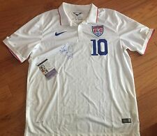 RARE LANDON DONOVAN Signed Auto USA SOCCER JERSEY JSA COA PHOTO PROOF WORLD CUP