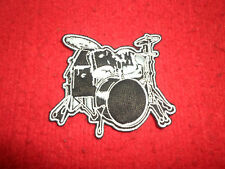 Drum Set Embroidered patch