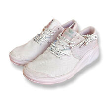 Supra Womens Pink Noiz Lace Up Low Top Round Toe Sneaker Shoes Size 8