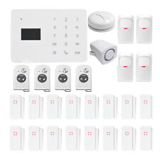 New Wireless Wired Home Security Touch Screen GSM Alarm System + 27 Accessories