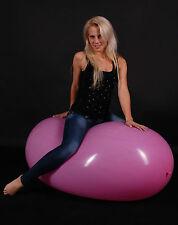 5x RIFCO GL800 Riesen- Zeppelin Luftballon 85x150cm *Riesen- Ei- Ballon * Looner