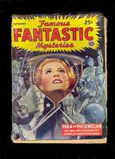 FAMOUS FANTASTIC MYSTERIES (Pulp) 9.1945 Lawrence Finlay
