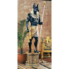 Egyptian Jackal God of the Dead & Embalming Anubis Life Size Statue Over 8 ft.