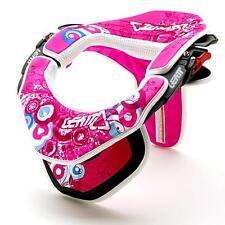 Leatt Brace mousse & kit deco gpx ASHLEY FIOLEK moto Enduro Cross Rose