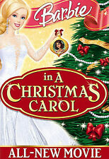 Barbie in a Christmas Carol (DVD, 2008) Brand new in wrap and cardboard sleeve