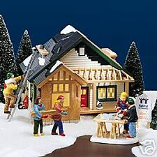 DEPT 56   SNOW VILLAGE  A HOME IN THE MAKING