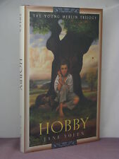 1st, signed by the author, Young Merlin 2: Hobby by Jane Yolen (1996)