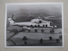 PHOTO PRESSE EH101 CIVIL HELICOPTER PP3 WESTLAND YEOVIL