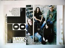 COUPURE DE PRESSE-CLIPPING :  TOOL [6pages] 2006 Maynard James Keenan,10000 Days