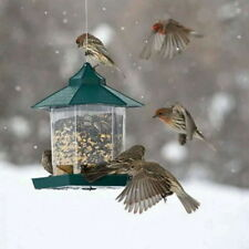 Easy To Fill Waterproof Gazebo Hanging Wild Bird Feeder Villa Outdoor Feeding