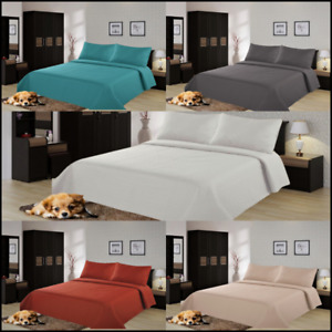 NEW All Seasons Coverlet Bed Top Dressing Bedding Quilted Bedspread Pillow Shams