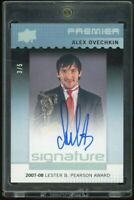 2016-17 Premier Signature Award Winners Silver Spectrum  Alexander Ovechkin 3/5