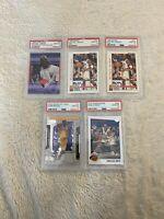 PSA 10 Michael Jordan Kobe Bryant Card Lot FLEER HOOPS SKYBOX PANINI UPPER DECK