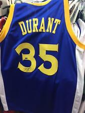 Kevin Durant Dorado Guerreros del Estado Camiseta Firmada NBA Champion  (2017) cert. de autenticidad f0177801ccd