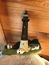 "Lighthouse~Plaque~Tybee Island, Ga~Wall Hanging~8""~Tag~History~Ar t~Rare~Decor~"