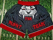 TIGEAR Fight Team MMA Muay Thai Fighting Sparring Martial Arts Shorts For Jock