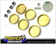Welch Welsh Brass Core Plug Kit Set for Ford V8 289 302 351 Windsor WPK-F351W