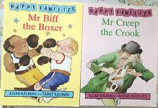 Vintage Happy Families Books