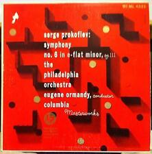 ORMANDY prokofiev symphony no. 6 LP VG+ ML 4328 Alex Steinweiss Art 1950 Record