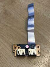 Toshiba Satellite L500 L500D L505 L505D USB Board with Ribbon Cable LS-4972P