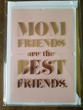 MOTHER'S DAY Greeting Card *SIGNATURE* For Mom friends are best friends daughter