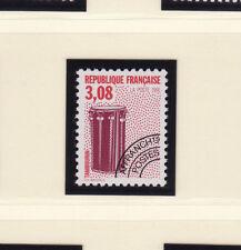 timbre France préoblitéré  musique dent 12   n° 218a **