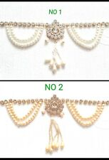 New Indian Bollywood Saree Belt Jewellery Belly Dancing Party Pearl Stone Belt